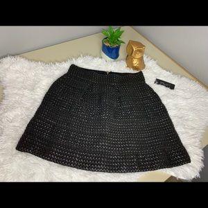 Romeo + Juliet Couture NWT Woven zipper skirt 🏷